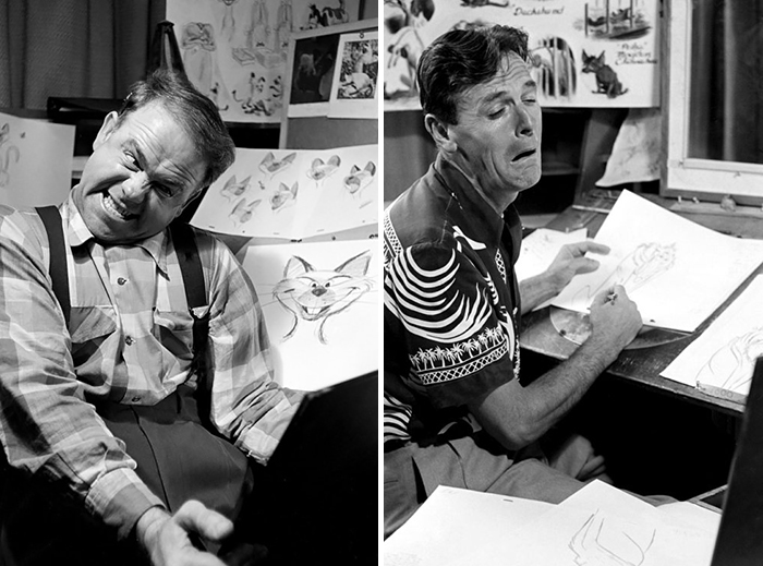 Disney Animators Study Their Reflections In The Mirror To Draw Their Characters Right