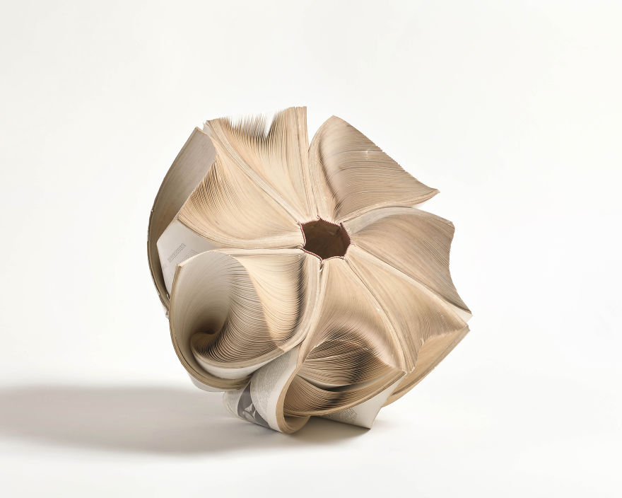 Untitled, Kenji Nakama, 7 Encyclopedias, 50x30x50 Cms, 2011