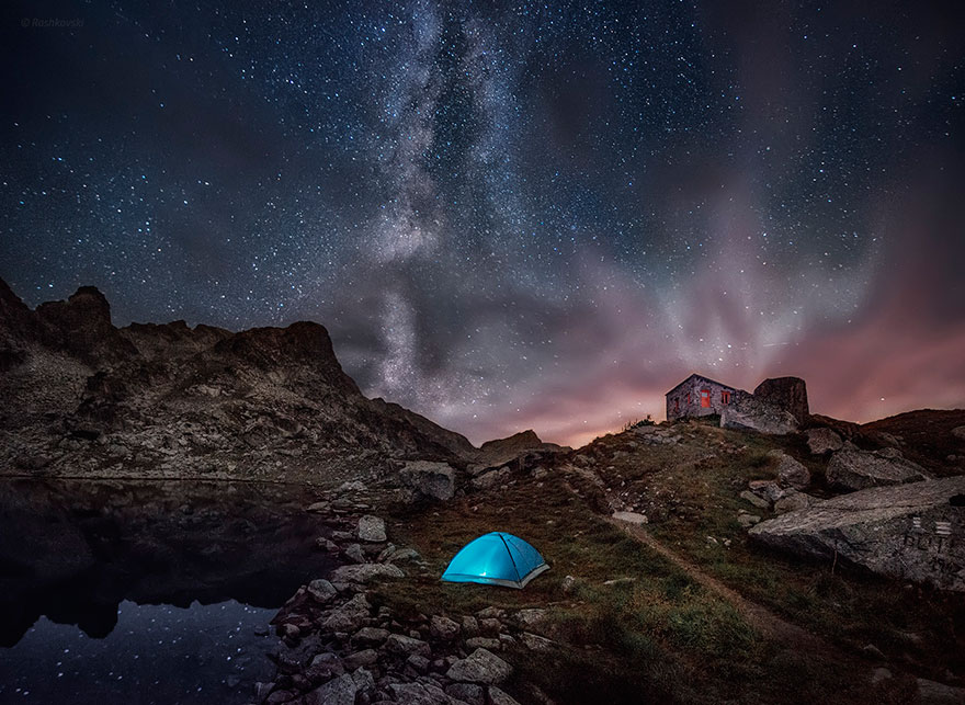 A Dreamscape From Rila Mountain, Bulgaria