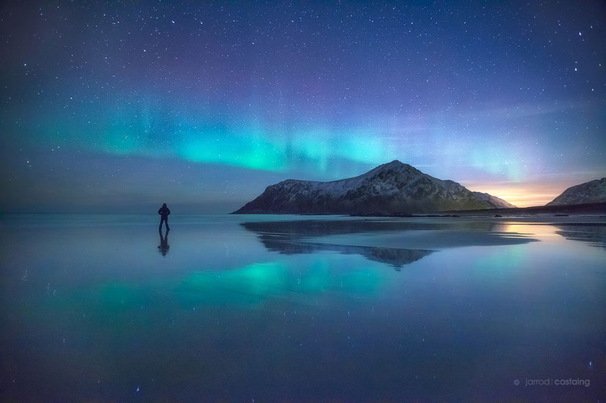 Arctic Sky In Lofoten, Norway