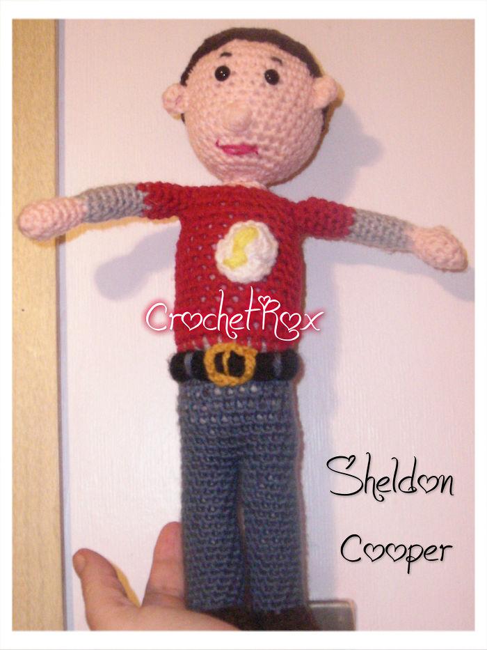 Sheldon Cooper Doll