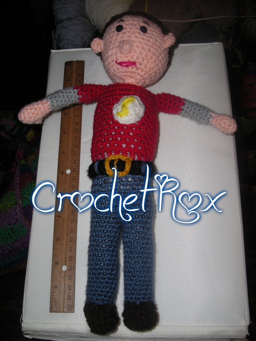 Sheldon Cooper By Crochet Rox