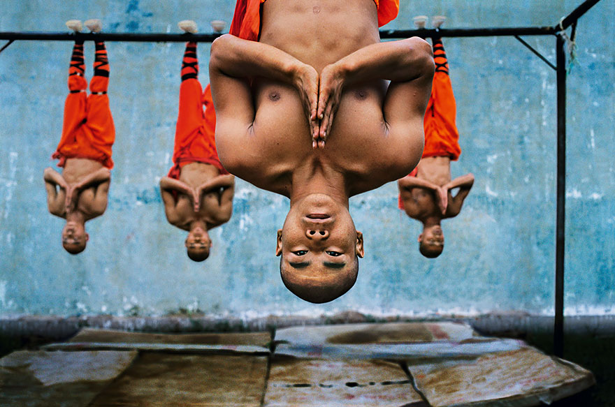 Shaolin Monks Training