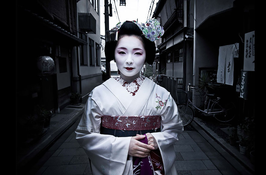 Toshimana, A Maiko In Kyoto, Japan