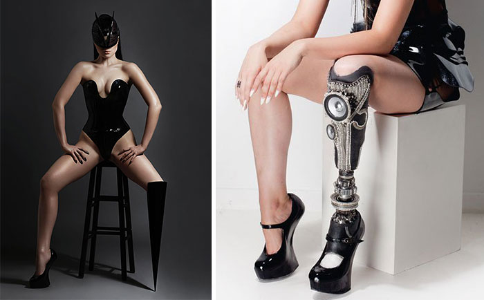 World's First Amputee Pop Star And Model Shows Off Her Badass Prosthetics In Music Video