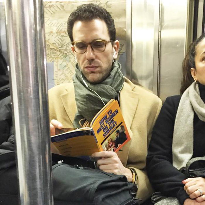 21 People Reading Poorly-Chosen Books In Public
