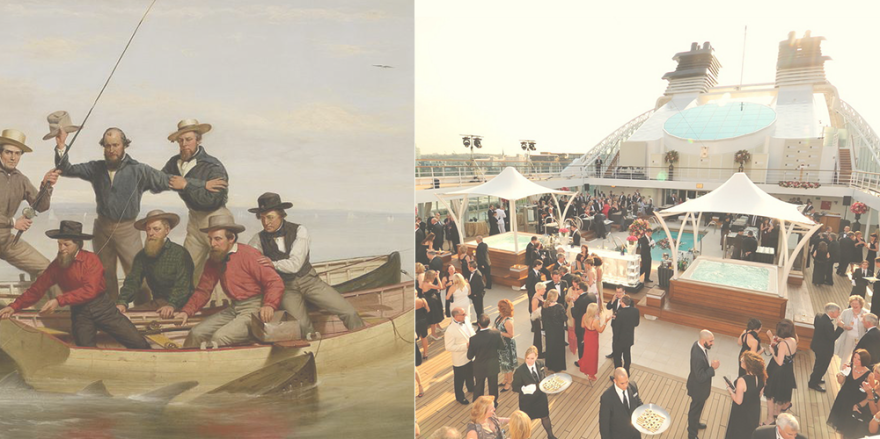 Once Upon A Time There Was A Boat Party...and Today