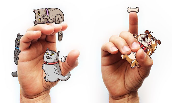 Cute Sign Language Illustrations By Alex Solis