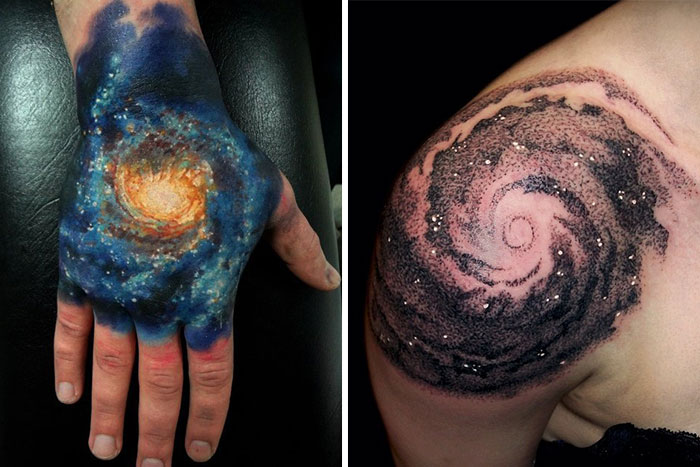 58 Cosmic Tattoo Ideas For Astronomy Lovers