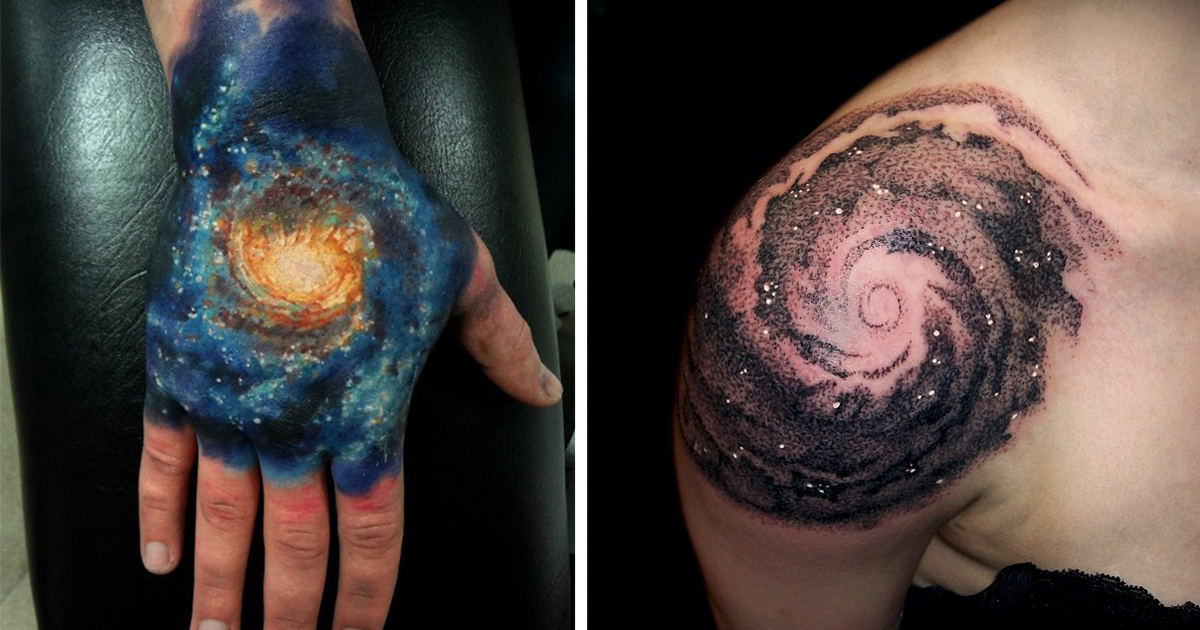 58 Cosmic Tattoo Ideas For Astronomy Lovers Bored Panda