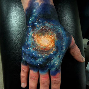 15+ Cosmic Tattoo Ideas For Astronomy Lovers