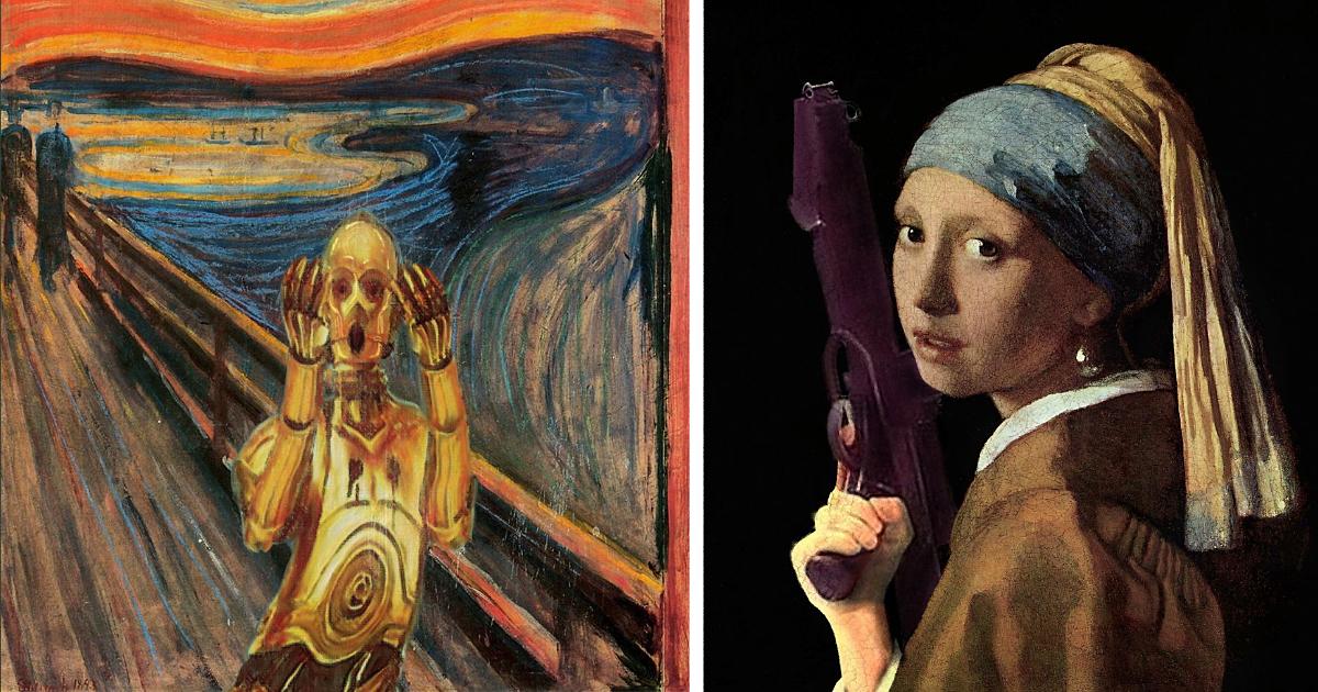 Art History top t