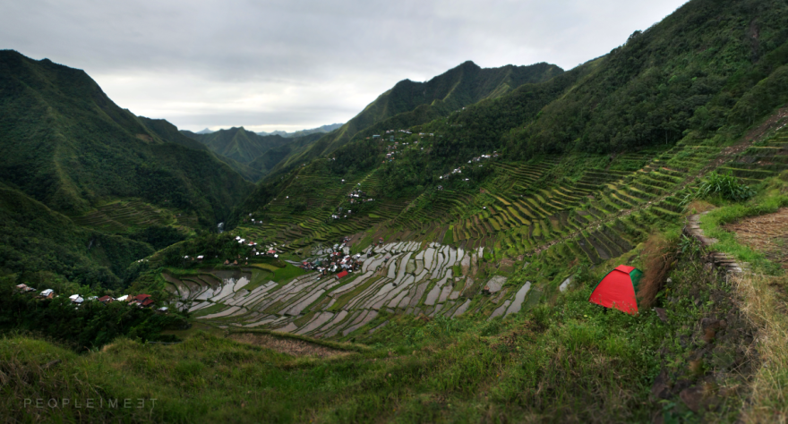 Batad Rice Terraces In The Philippines.