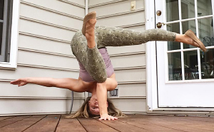 My Daily Yoga Practice In Unusual Places