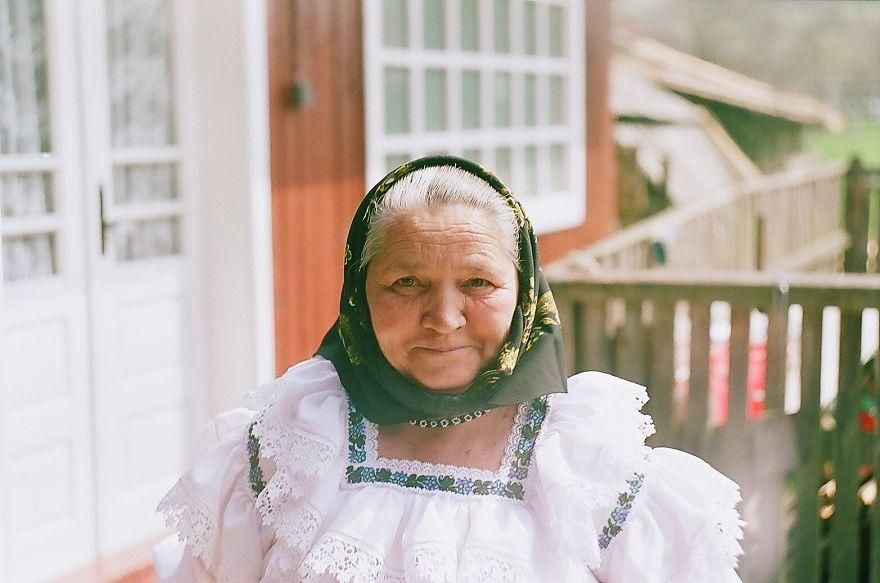 Woman In Traditional Costume, Maramures, Romania