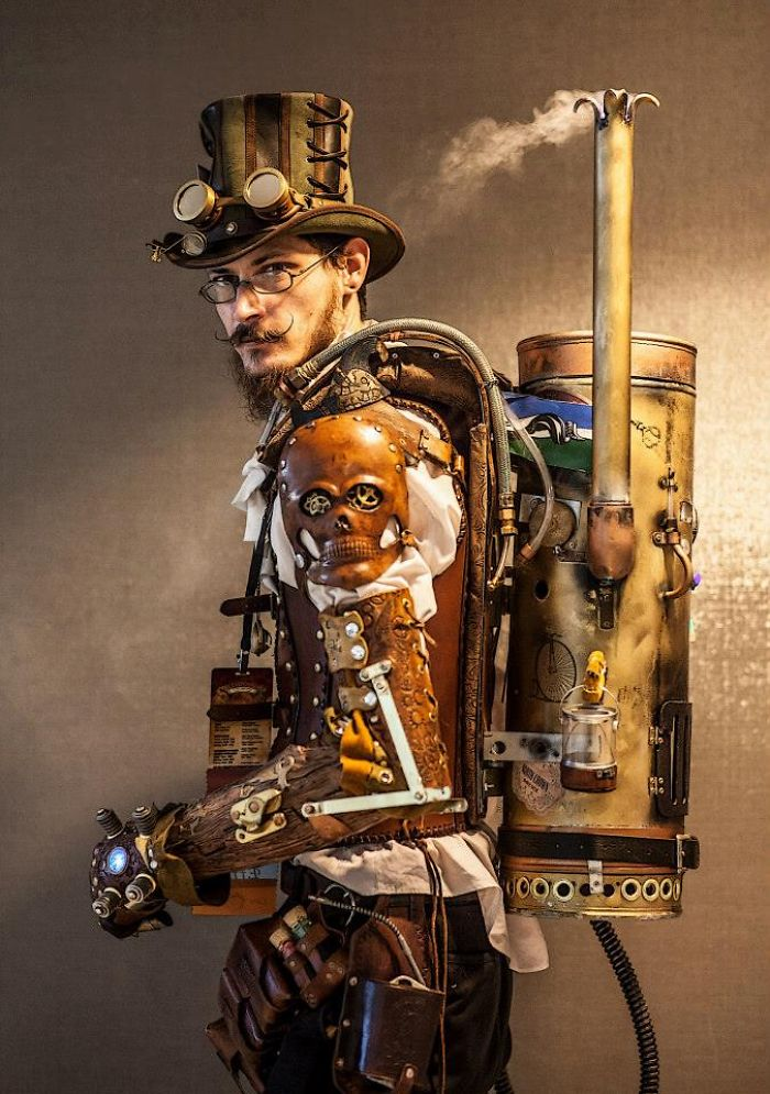 Steampunk Lord William Towers