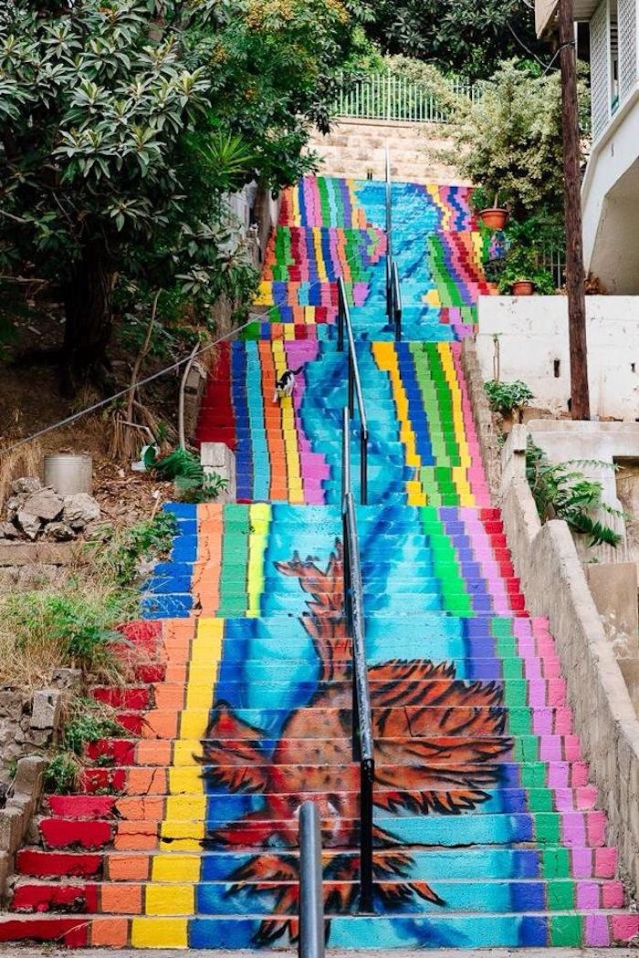 Ashrafieh- Azarieh Stairs- Beirut, Lebanon