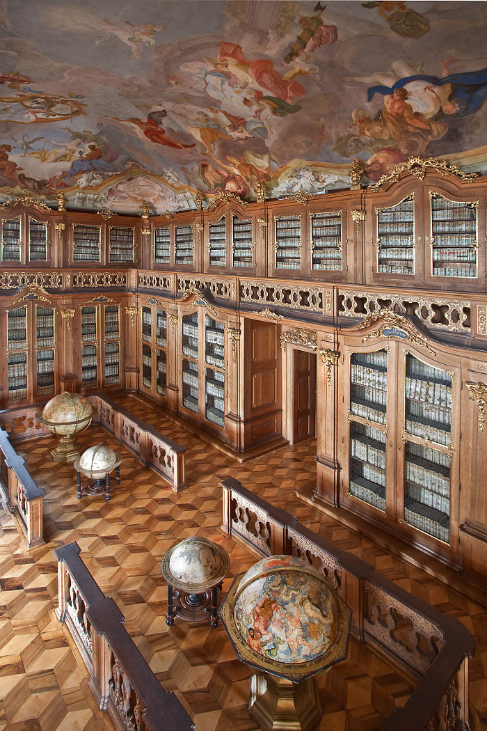Archiepiscopal Library Kromeriz, Czech Republic