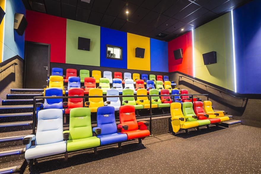 Kids Cinema At Vox Cinemas, Abu Dhabi, Uae