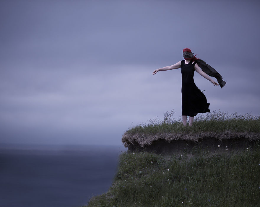 Conceptual Photography Taken In The Landscapes Of Newfoundland