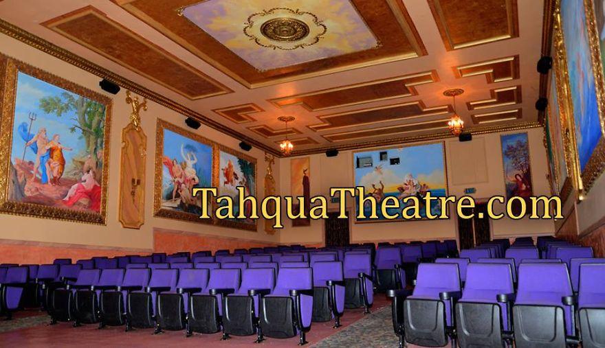 Taqua-land Theatre Newberry Michigan