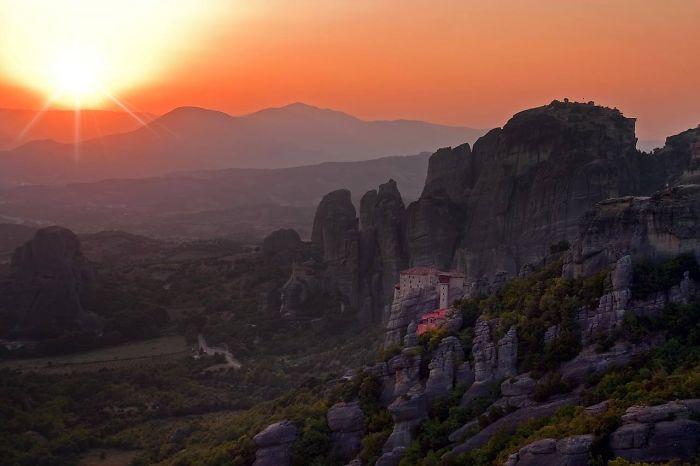 Meteora Mountains, Greece