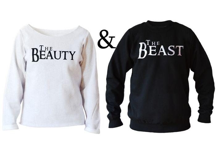 The Beauty & The Beast Sweatshirts