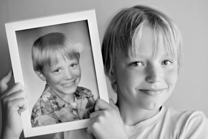 Father And Son … 10 Years Old.