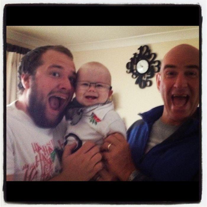 Like Father, Like Son, Like Grandson!
