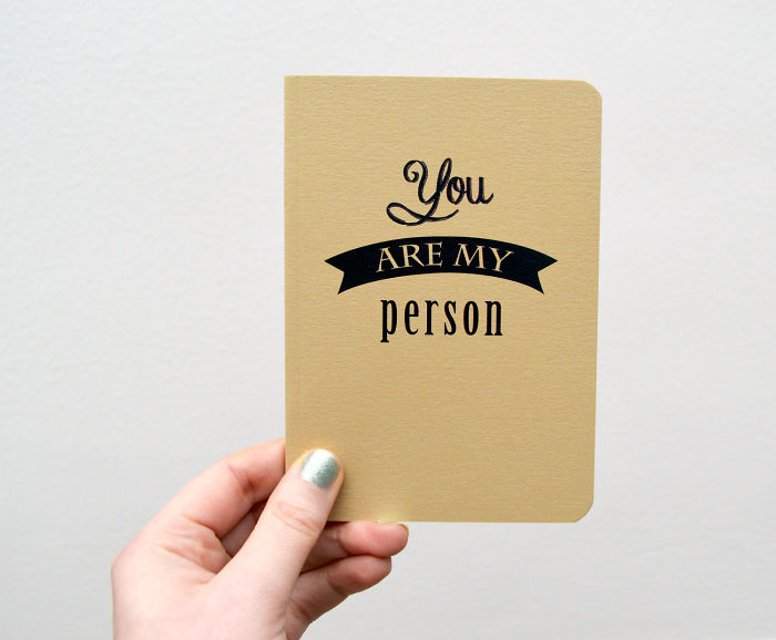 You Are My Person Notebook