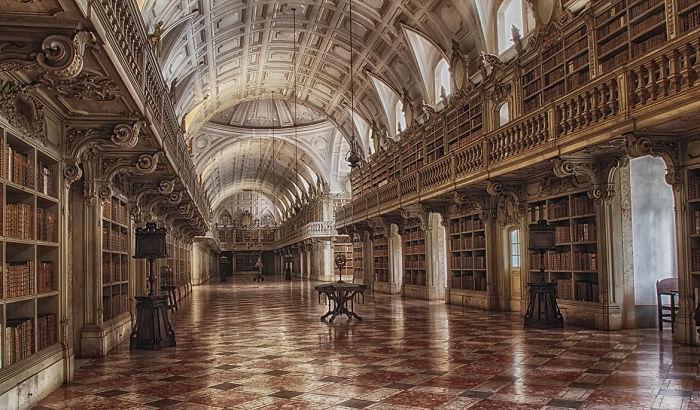 Palácio Nacional De Mafra, Portugal