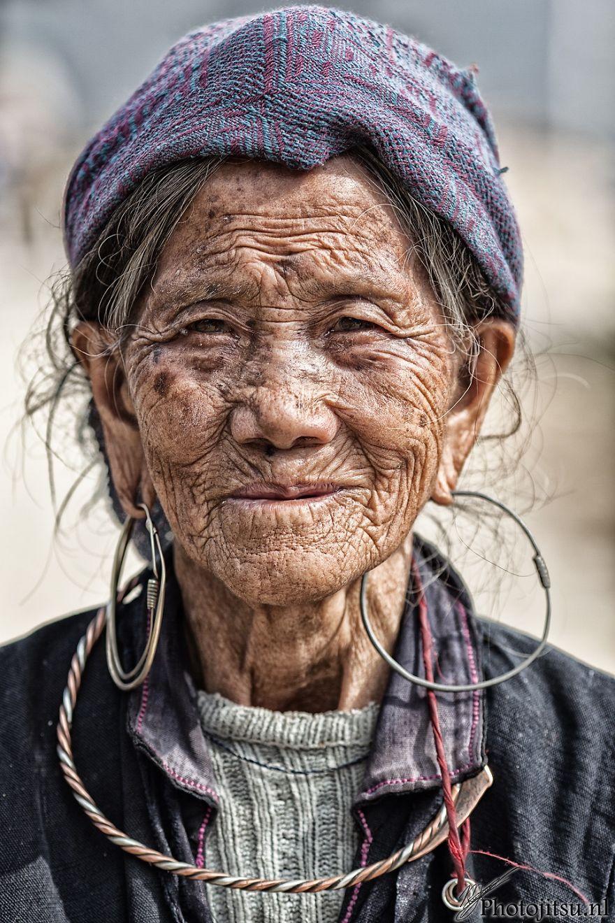 Village Elder In Sapa, Vietnam