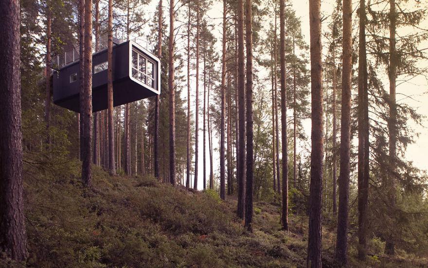 The Cabin (treehotels), Harads, Sweden