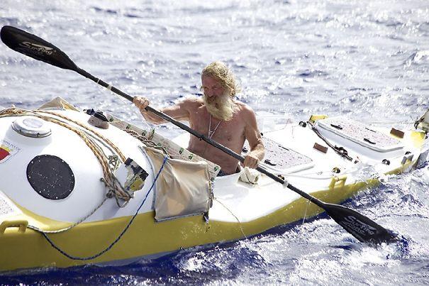 Aleksander Doba, 67 Yo, A Polish Kayaker, Paddled 7,716 Miles Across The Atlantic Ocean