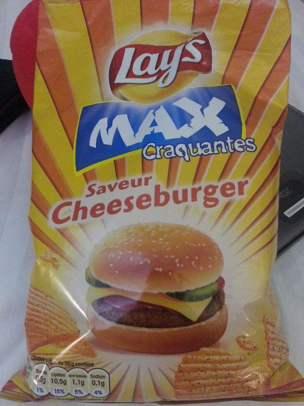 Cheeseburger Flavor - France