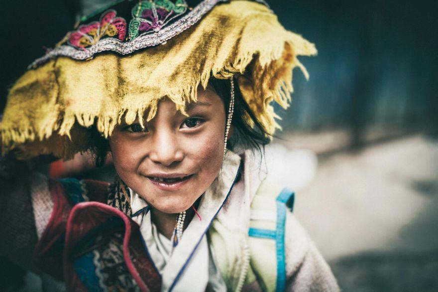 Cusquenita / Child In Cusco / PerÚ