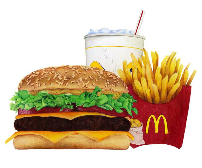 Ballpoint Pen Burger