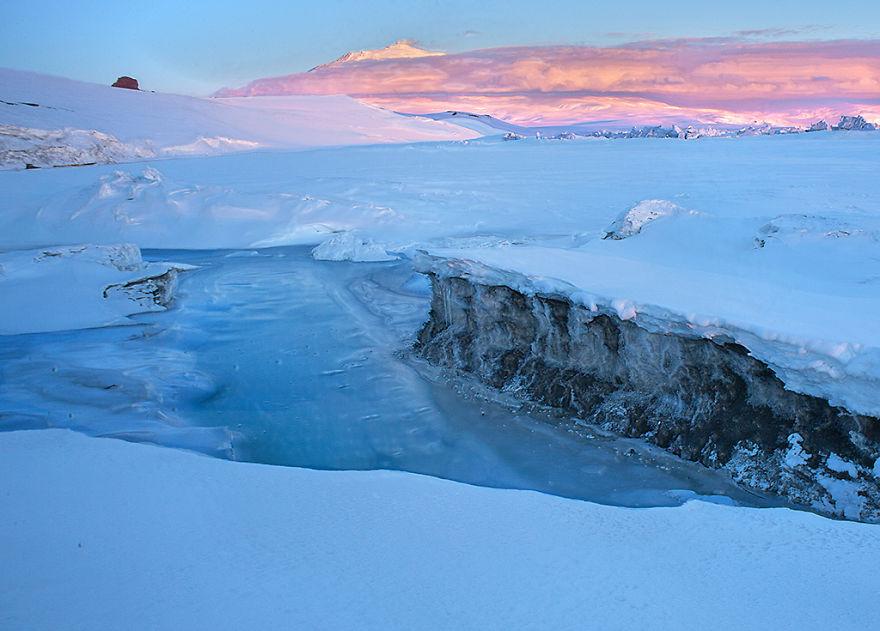 Ross Ice Shelf Antarctica
