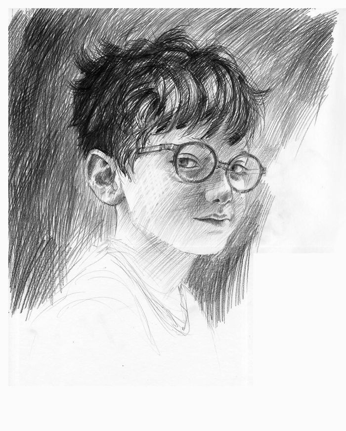Artwork For The Deluxe Harry Potter Book Edition