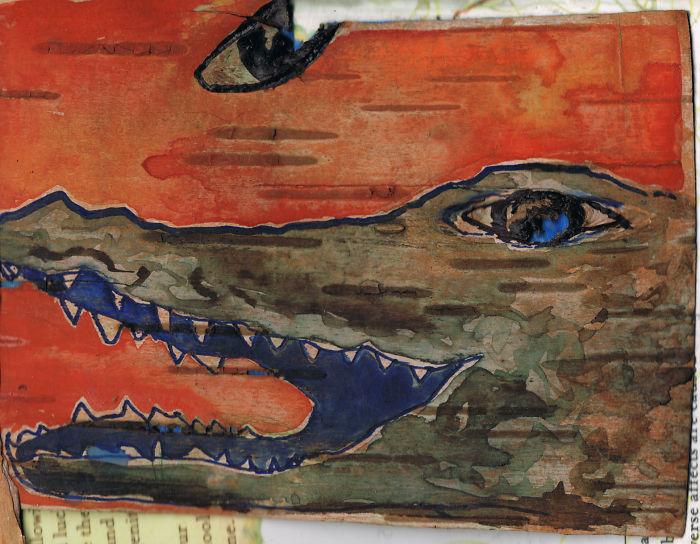 Birch Bark Paintings