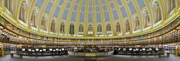 The British Museum Reading Room – London, Uk