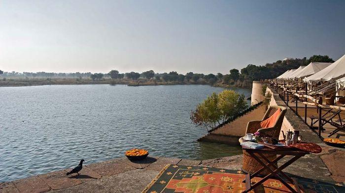 Chhatra Sagar Dam Hotel, India