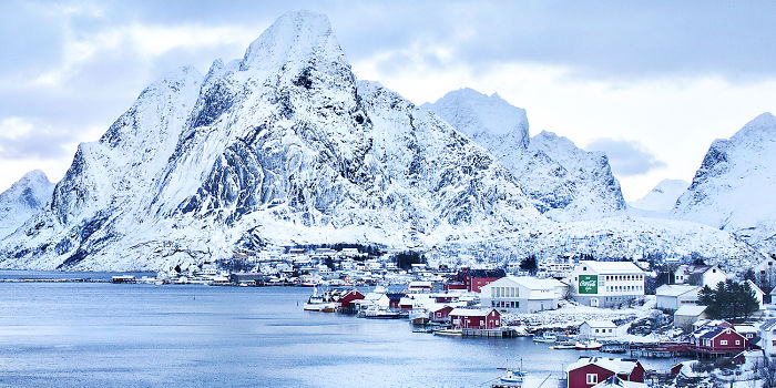 A Big Launch In A Tiny Norwegian Fishing Village