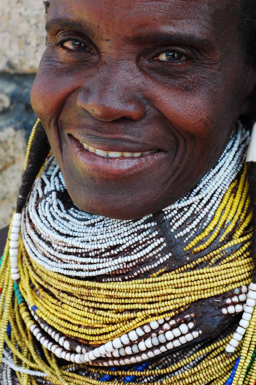 Old Muila Smile... Southern Angola.