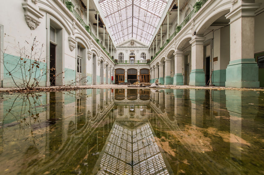 Фотогалерея: заброшенные здания в Европе