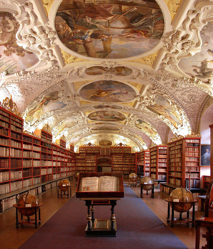The Strahov Monastery Library, Prague