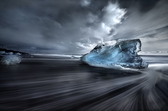 Landscapes Of Iceland During The Winter
