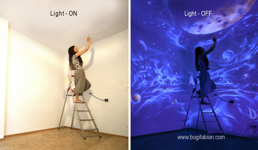 Glow-In-The-Dark Wall Murals