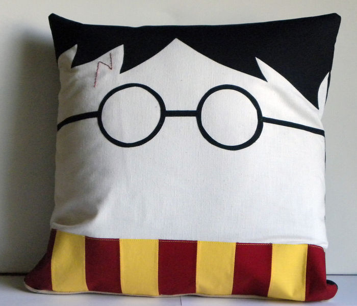 Harry Potter Pillow Cover By Soverysweet