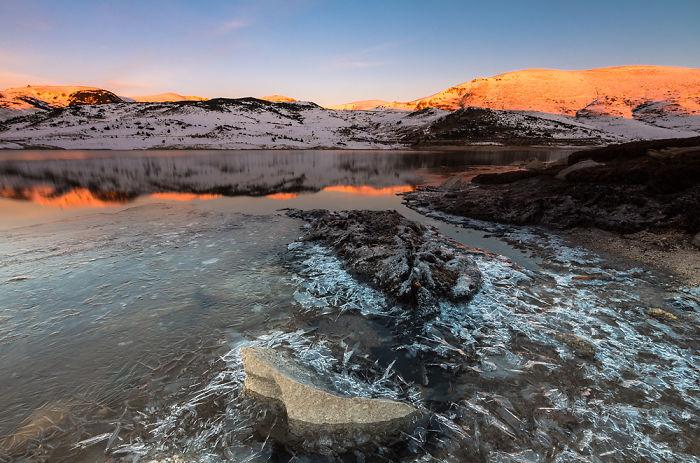 Belmeken Lake In Rila National Park – Bulgaria
